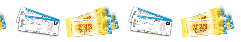 Billets de tirage Raffle tickets