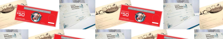 Certificats cadeaux Gift Certificates