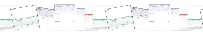 Chèques laser sécurisés Secured Cheques
