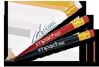 Crayon de golf en bois Image