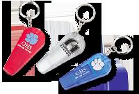 Porte-clés lampe, sifflet Image