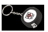 Pneu porte-clés galon à mesurer 3'/1 m Image