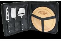 Plateau à fromages avec étui (3 couteaux) Image