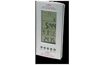 Station météo avec horloge et calendrier Image
