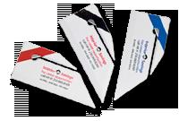 Ouvre-lettres avec mini-règle et équerre Image