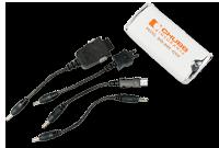 Chargeur pour téléphones cellulaires - 4 adaptateurs Image