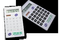Calculatrice solaire plate à 8 chiffres Image