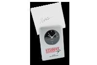 Horloge réveil analogique et pince-note Image