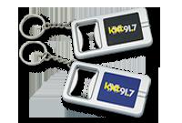 Porte-clés / décapsuleur et lampe LED blanche Image