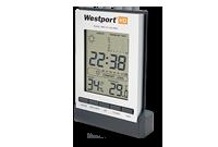 Horloge / station météo Image
