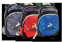Sac à dos sport avec matériel de couleurs contrastantes Image