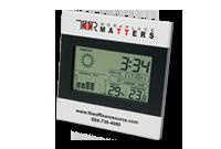 Horloge et station météo deux tons Image