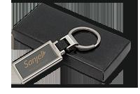 Porte-clés en métal deux tons Image