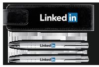 Coffret avec stylos en métal «LIGURIA» Image
