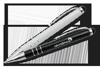 Mini stylo metal et stylus «Cordoue» Image