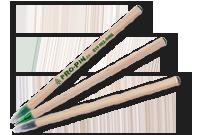 Stylo bâtonnet en bois Image