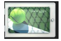Boîte cadeau pour carte de crédit Image