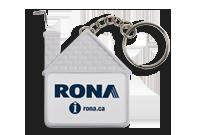 Maison porte-clés galon à mesurer 1 m/3' Image