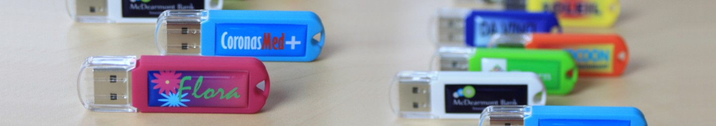 Clés USB Flash Drives