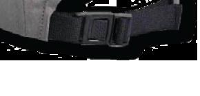 Attache arrière avec clip en nylon Image